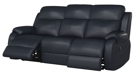 blue leather reclining sofa navy blue reclining sofa navy dual reclining sofa bailey s