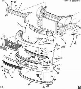Buick Enclave Fascia  Front And Rear Bumper  Fascia Face