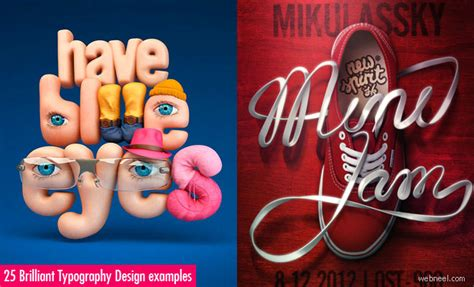 25 brilliant typography design exles for your inspiration