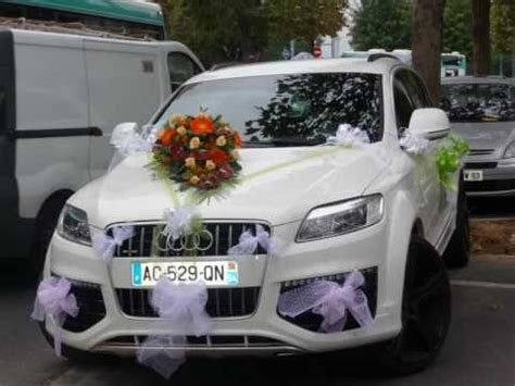 decoration peniche mariage voiture mariage table mariage
