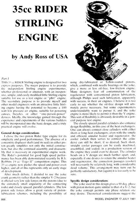 Машины работающие по циклу Стирлинга. Stirlingcycle machines 1973 . Уокер Грэхем Перевод с английского. download