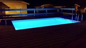 Eclairage Piscine Bois : eclairage et luminaires pour piscine en bois vercors piscine ~ Edinachiropracticcenter.com Idées de Décoration