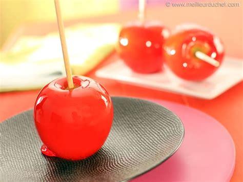 recettes de cuisines faciles pomme d 39 amour notre recette illustrée meilleurduchef com
