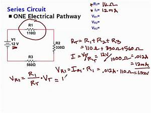Calculating Voltage Drop Across Resistors - YouTube