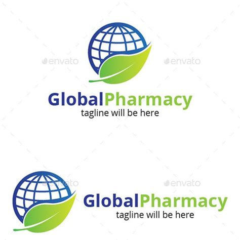 Global Pharmacy by Pharmacy Logo Templates From Graphicriver