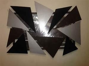 Tableau Metal Design : tableau design metal maison design ~ Teatrodelosmanantiales.com Idées de Décoration