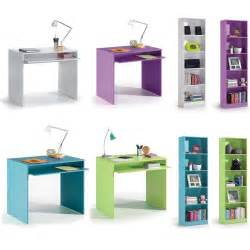 leo childrens computer study desk with 5 tier shelf bookcase bedroom furniture ebay