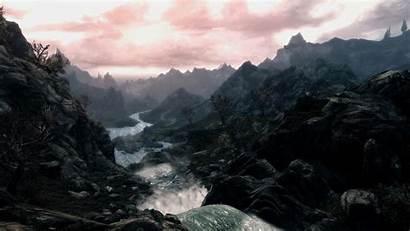 Skyrim Scrolls Elder Wallpapers Background Landscape 1080