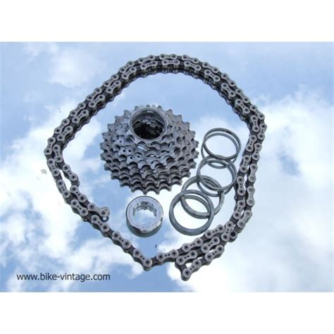 cagnolo record 10 speed cassette cassette cagnolo record titanium 10speed with