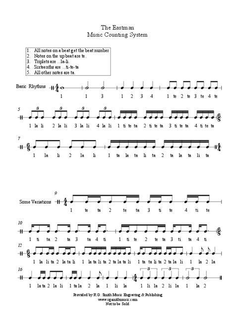 10 Best Images Of Rhythm Counting Worksheets  Music Rhythm Counting Worksheets, Music Rhythm