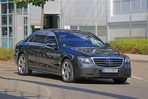 Mercedes Class S : 2018 mercedes s class taillights spied in detail autoevolution ~ Medecine-chirurgie-esthetiques.com Avis de Voitures