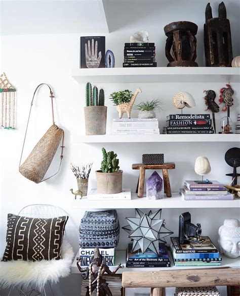 Bedrooms Bookshelves 22 Inspirational Exles For Those Who To Sleep Near Their Books by Boho Chic Bohemian Decor Inredning Och