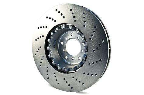 Bmw Genuine Front Drilled Brake Disc Set Left + Right E60