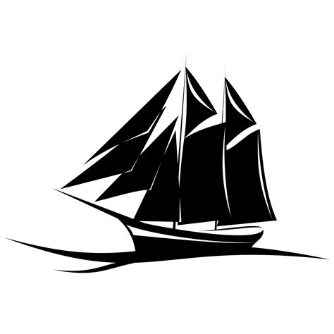 Sailboat Vector vector for free use yacht vector