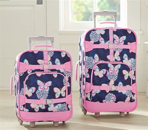 pottery barn suitcase luggage 10 best and cutest rolling luggage for