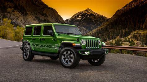 leaked dealer info shows  jeep wrangler paint options