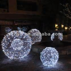 large led christmas ball for outdoor light decorations