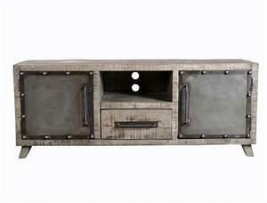 Meuble Industriel Nord : meubles tv et tables de salon ~ Teatrodelosmanantiales.com Idées de Décoration