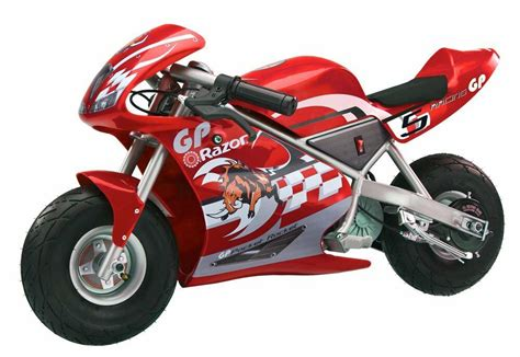 Razor Pocket Rocket 24v Mini Bike Electric Motorcycle