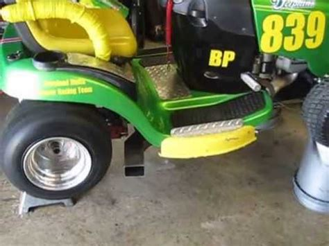 Slicks Garage Lawn Mower Engine by Kawasaki Fb460v Race Engine 1st Start Up Deere Stx38