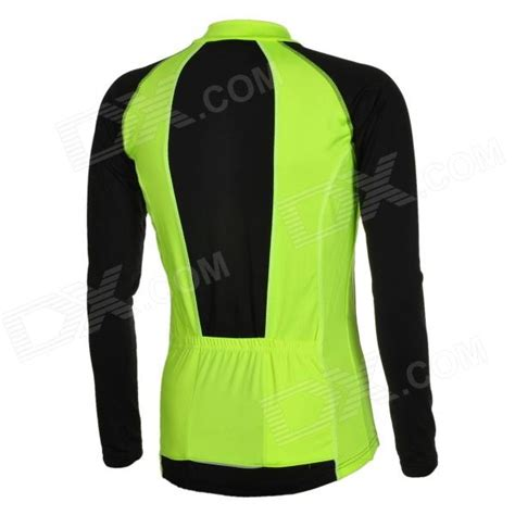mens fluorescent cycling jacket arsuxeo men 39 s cycling polyester spandex long sleeve