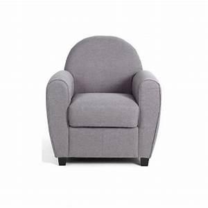 Fauteuil Club Tissu : fauteuil tissu gris clair achat vente fauteuil tissu gris clair pas cher cdiscount ~ Teatrodelosmanantiales.com Idées de Décoration