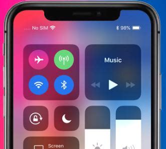 how to show battery percentage indicator in iphone xs max xs and xr