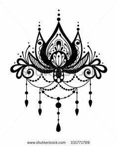 Henna Tattoo Schablonen : bildergebnis f r henna tattoo blume tattoos henna tattoo vorlagen und henna tattoo vorlagen ~ Frokenaadalensverden.com Haus und Dekorationen