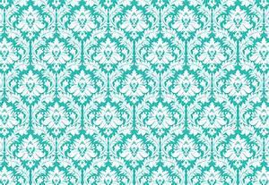 Turquoise and White Wallpaper - WallpaperSafari