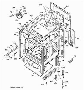 Hotpoint Rb787wh1ww Parts List And Diagram