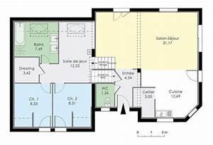 bien faire son plan maison 5 maison en demi niveaux With plan maison demi etage 2 plan maison avec demi sous sol ooreka