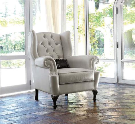 poltrone in tessuto classiche poltrone in pelle classiche di danti divani