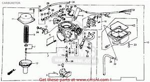 Honda Ch250 Elite 250 1985  F  Usa Carburetor