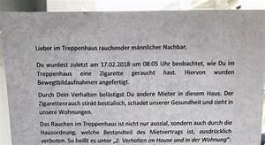 Rauchen Im Treppenhaus : rauchen im treppenhaus auf frischer tat gefilmt notes of berlin ~ Frokenaadalensverden.com Haus und Dekorationen