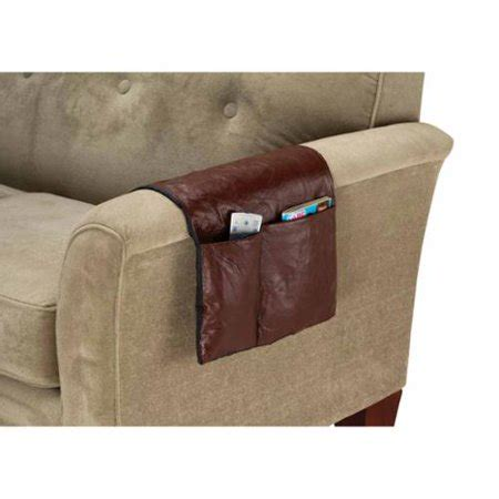 Leather Armchair Caddy by Kimball Brown Leather Armrest Organizer Walmart