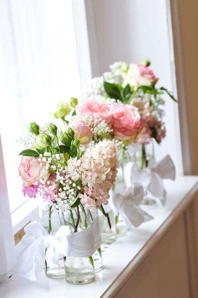 blumendeko vintage hochzeit flowers wedding