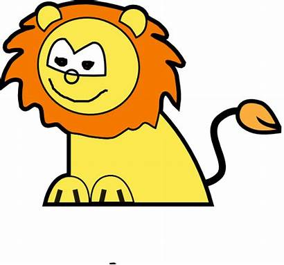 Lion Clker Clip Clipart