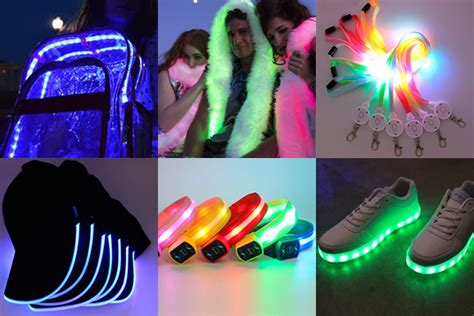 wearable led lights aaa battery pack wearable led strips lighting small