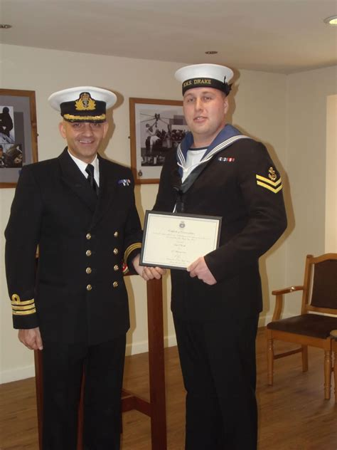 royal navy police officer excellence award royal navy