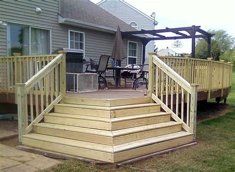 deck stairs ideas  pinterest outdoor stairs