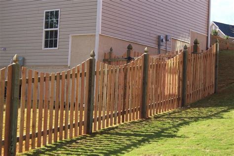 wood fence post wood fences jmarvinhandyman