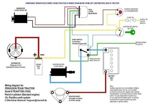 1954 Ford 8n Wiring Diagram by 6 Volt Positive Ground Wiring Diagram Wiring Diagram And