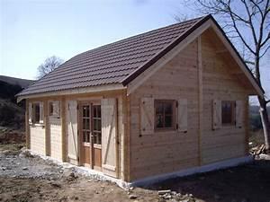 Chalet En Bois Habitable D Occasion : construction chalet de loisir chalets en bois habitable ~ Melissatoandfro.com Idées de Décoration