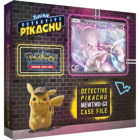 Establecida originalmente para ser distribuida por universal pictures, pokémon: Buy POKEMON TCG: DETECTIVE PIKACHU MEWTWO GX-CASE FILE on Trading Cards | GAME