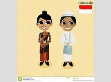 Cartoon ASEAN Indonesia Stock Vector Image 45168735