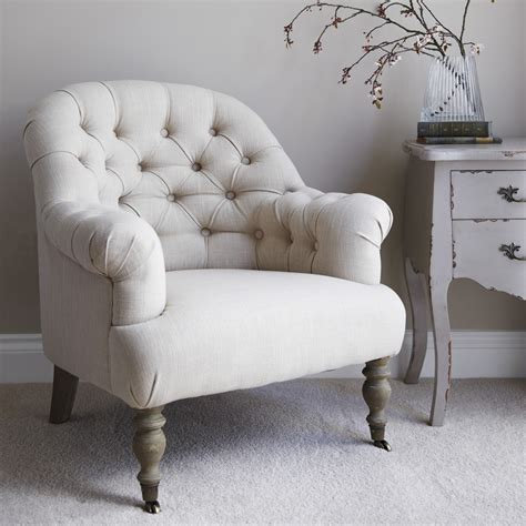 Back Armchair by Button Back Occasional Armchair Primrose Plum