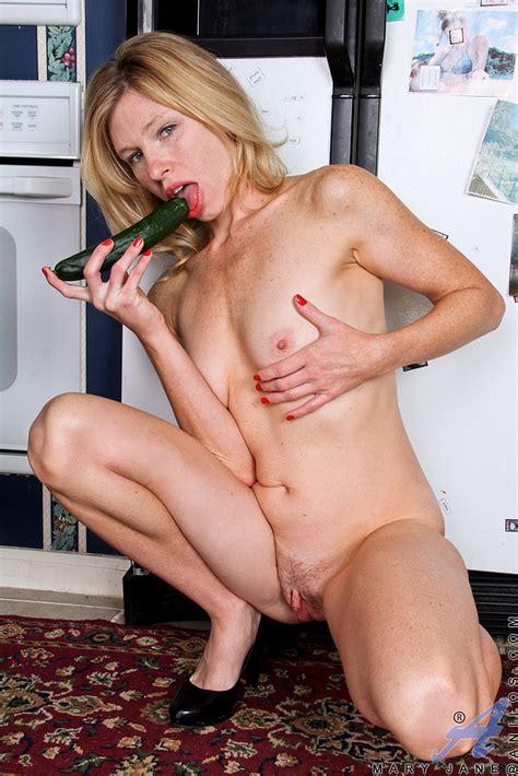 Mary Jane Dildo Fuck Her Pink Taco Milf Fox