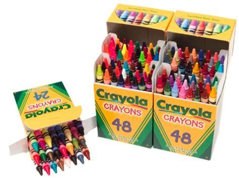 Crayola Crayons 120 Count Box (034807) Details