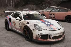 Look Auto : paint is dead rust wrapped porsche 911 gt3 rs by wrapzone gtspirit ~ Gottalentnigeria.com Avis de Voitures