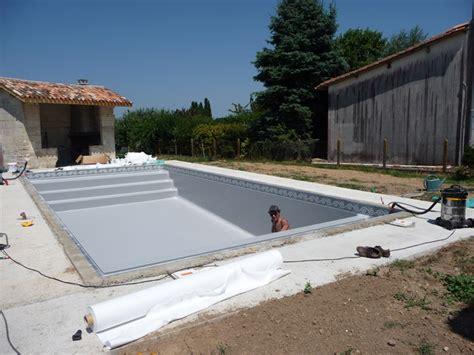 une piscine pas 224 pas liner et mise en eau piscines